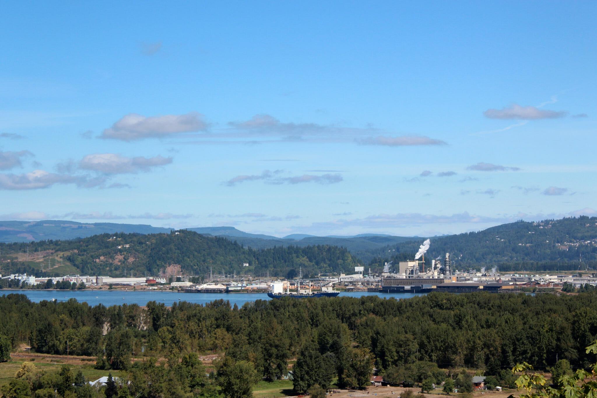 View of Astoria Oregon