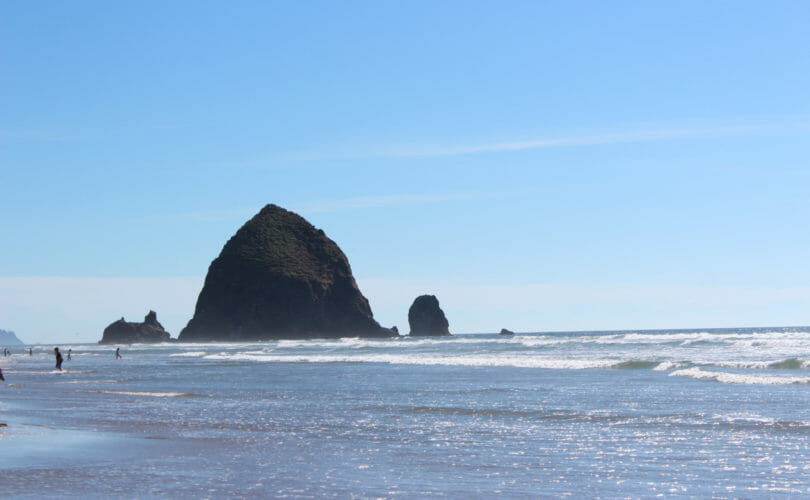 Haystack Rock on Cannon Beach
