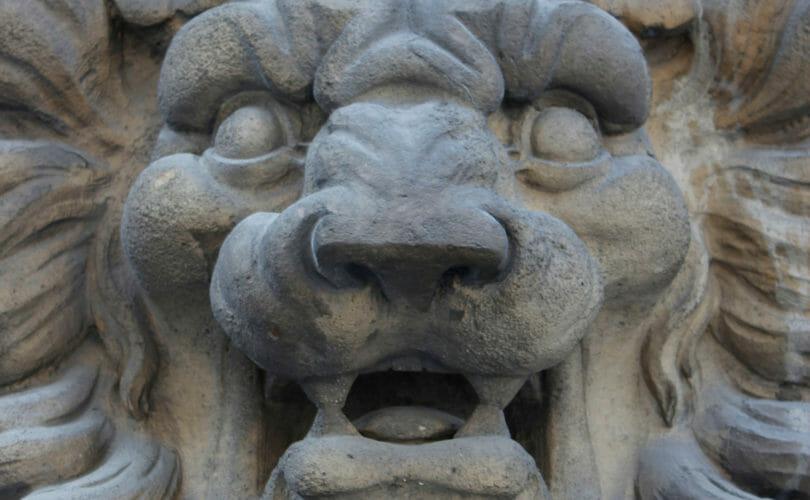 Lion Statue Louvre