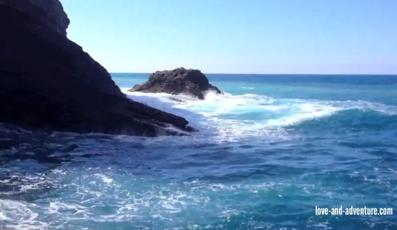 The sea at Vernazza