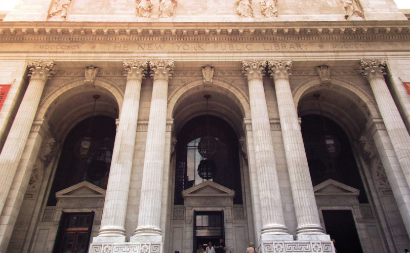 New York Public Library Exterior