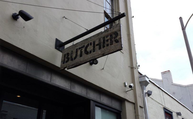 Cochon Butcher Sign