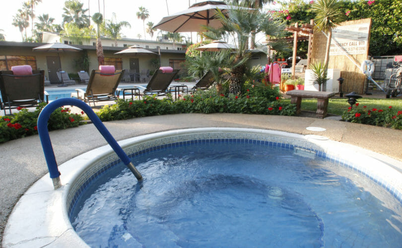 Desert Riviera Hot Tub