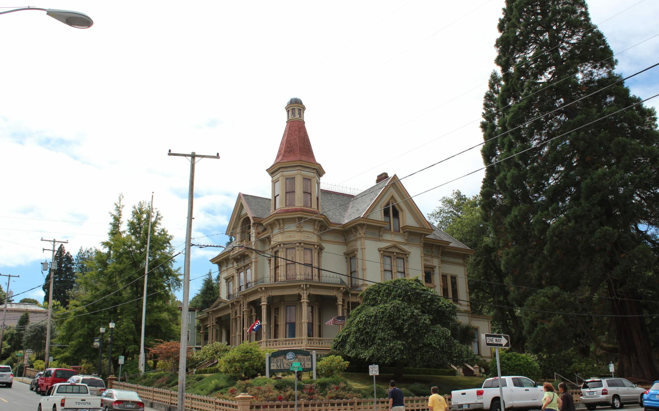 Flavel Mansion in Astoria