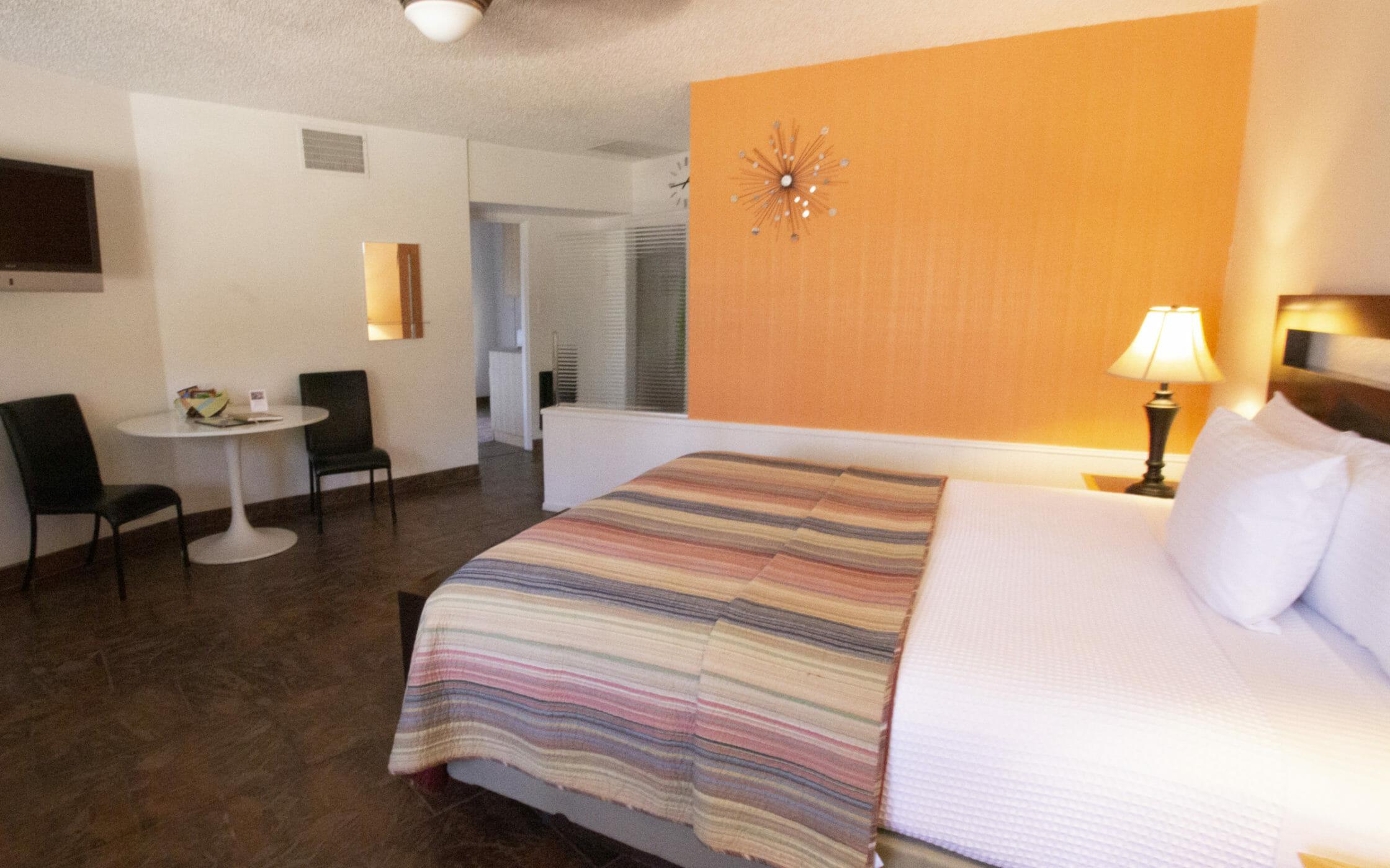 Room at the Desert Riviera Hotel