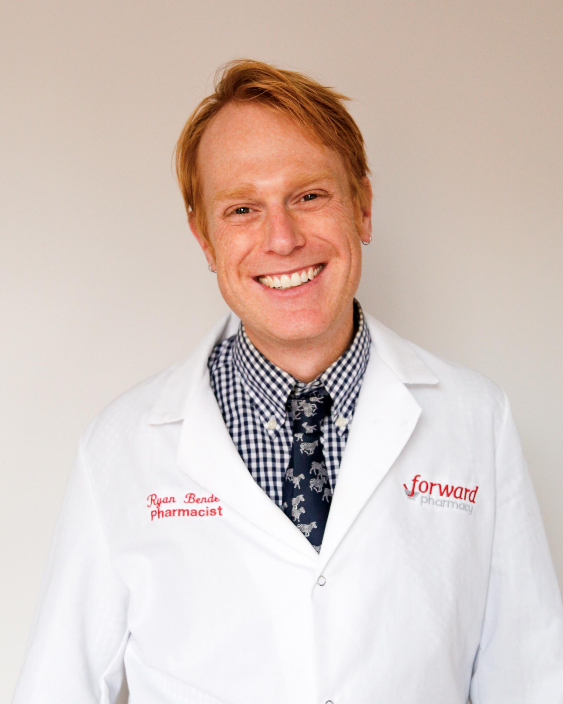 Ryan Bender, Pharmacist