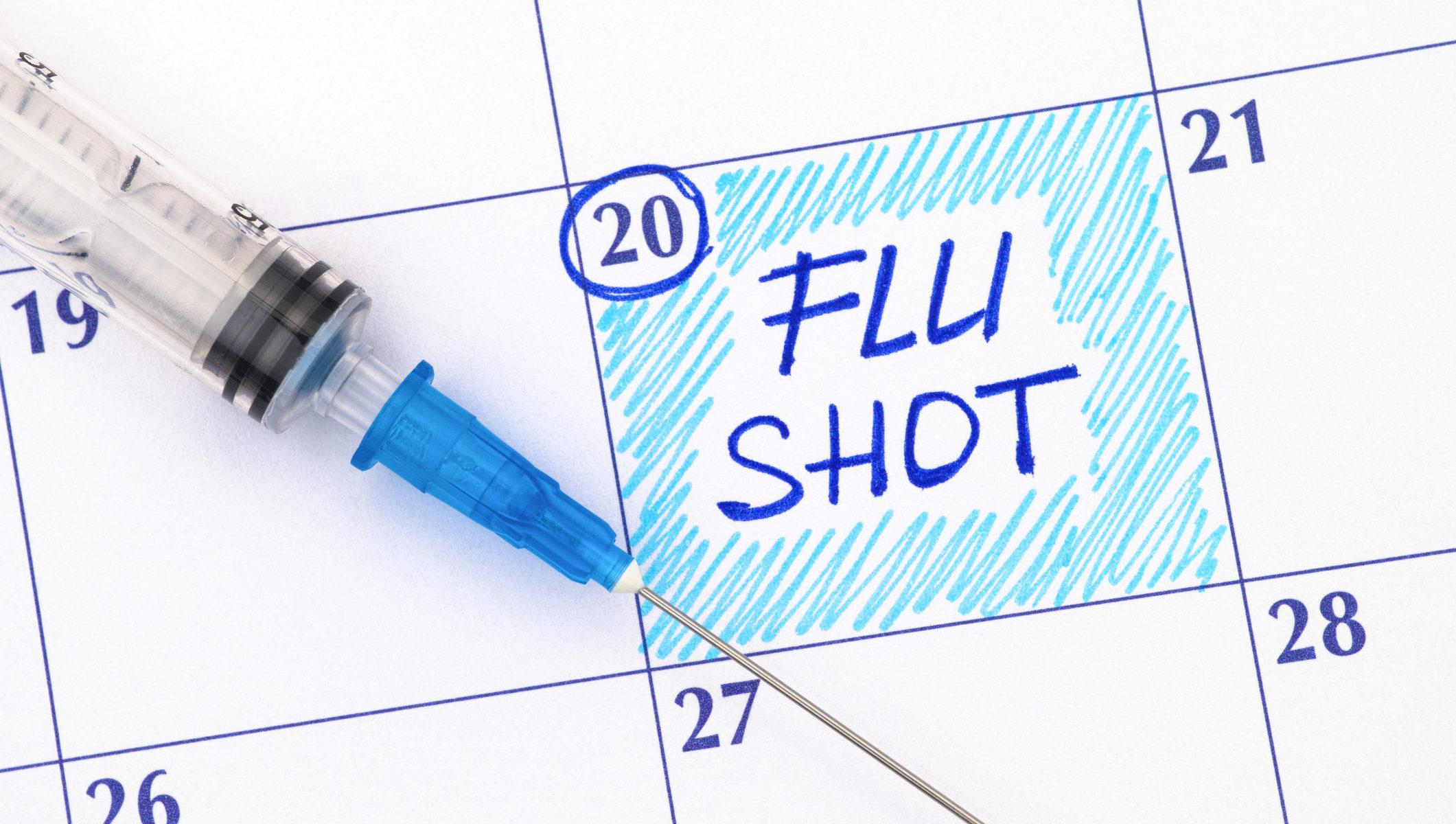 Flu Shot Calendar