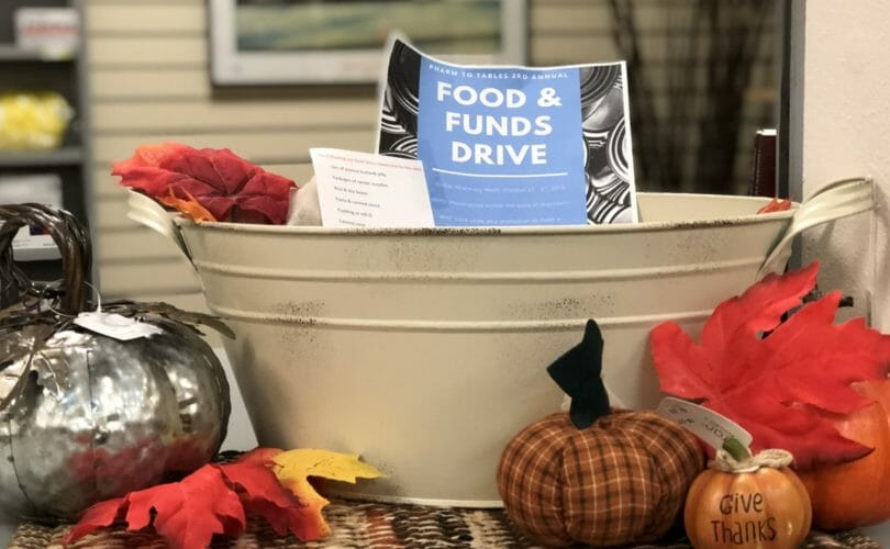 Food & Funds Drive at Our Stores