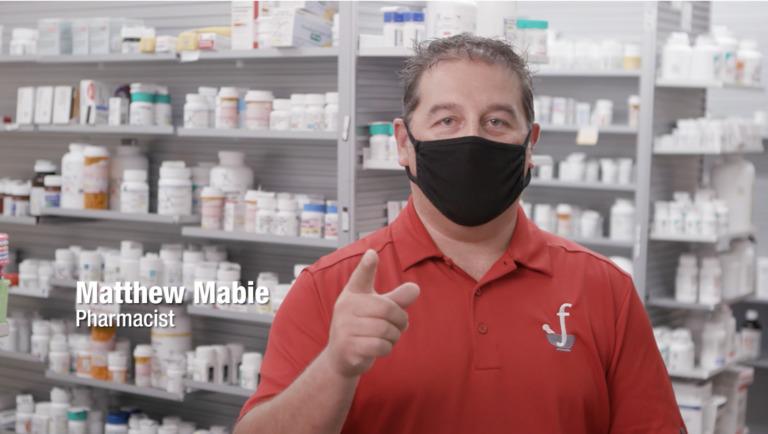 Matt Mabie, Wearing a Mask