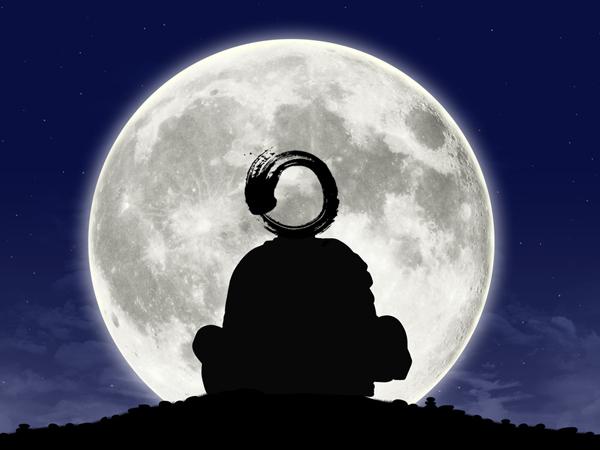 Zen Leader Enso moon