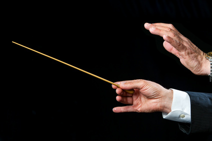 conductor hands