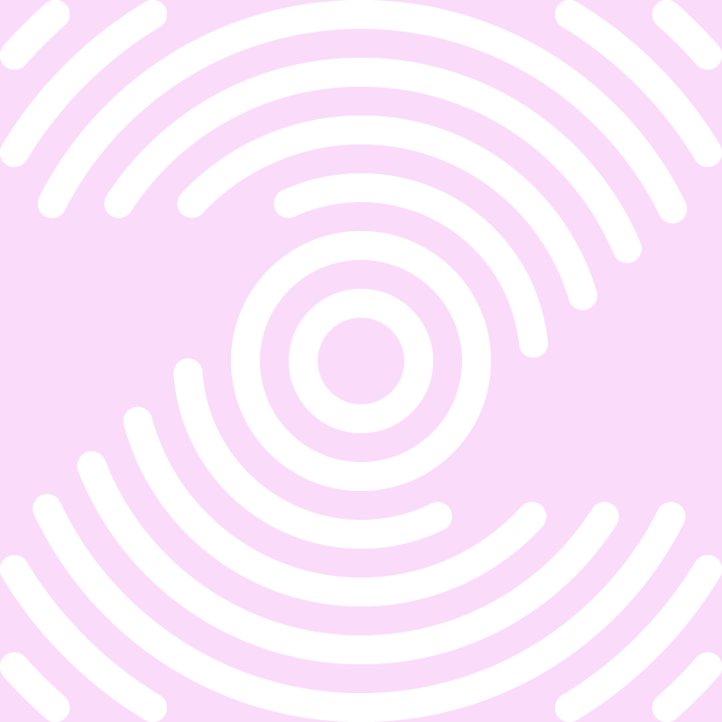 Zen Leader logo in pink and white