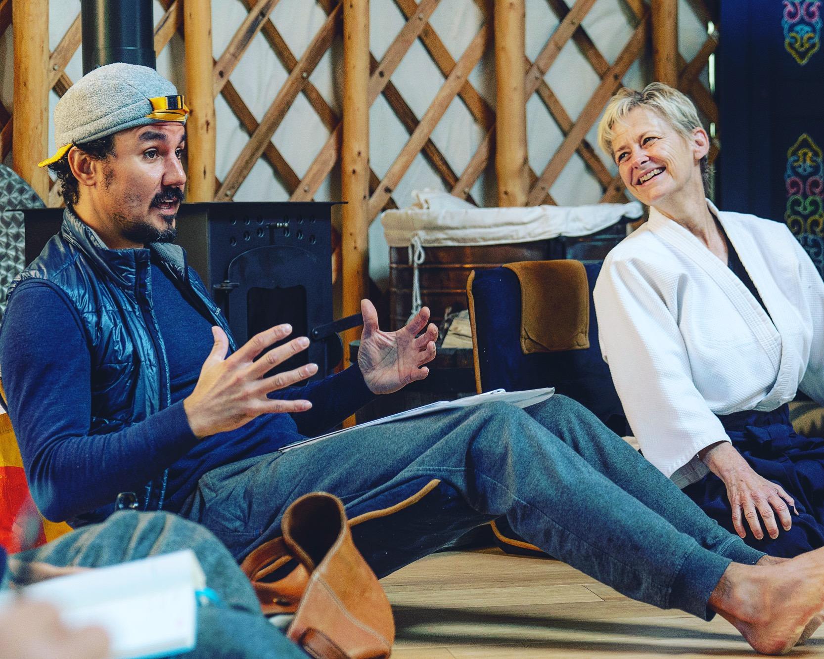 Ernie Capbert at Zen Leader