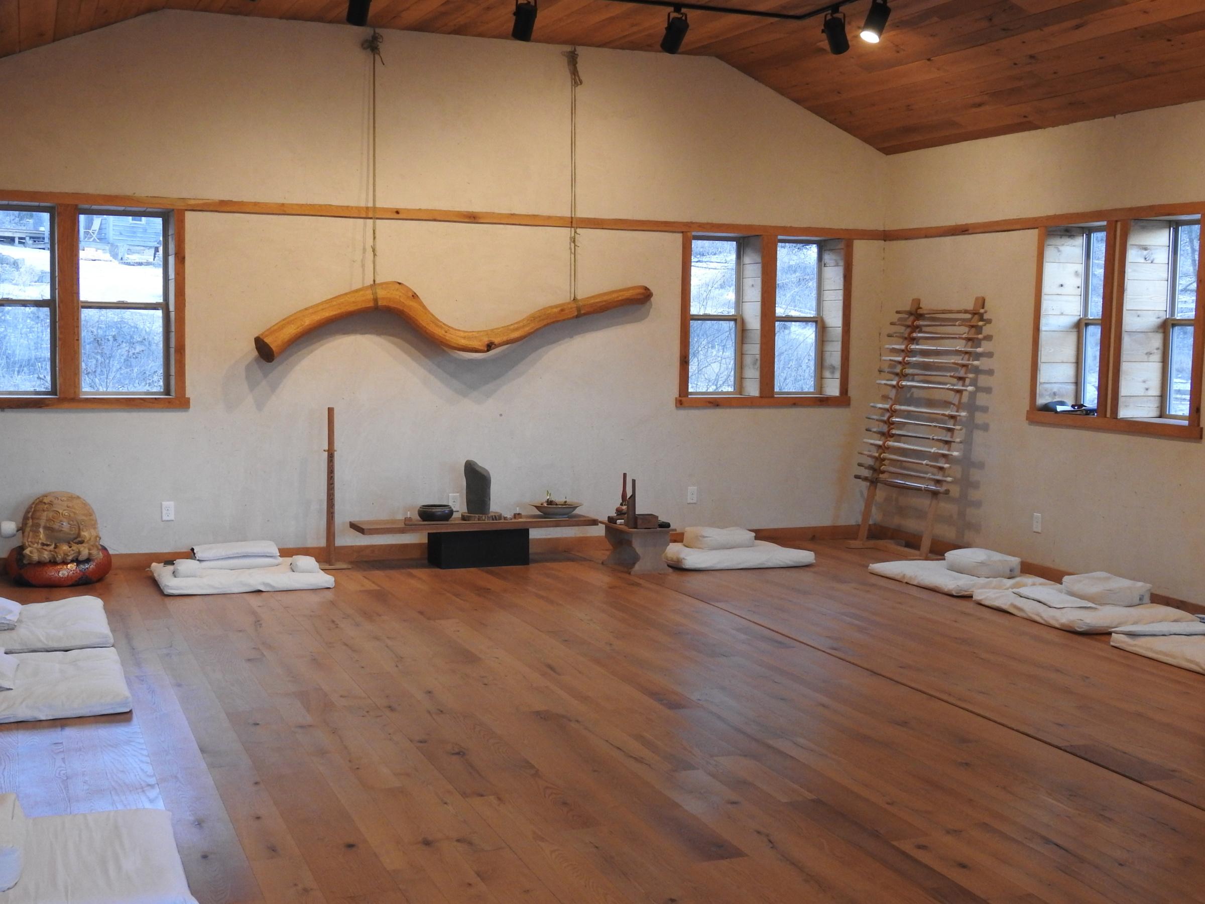 Inside the Dojo empty