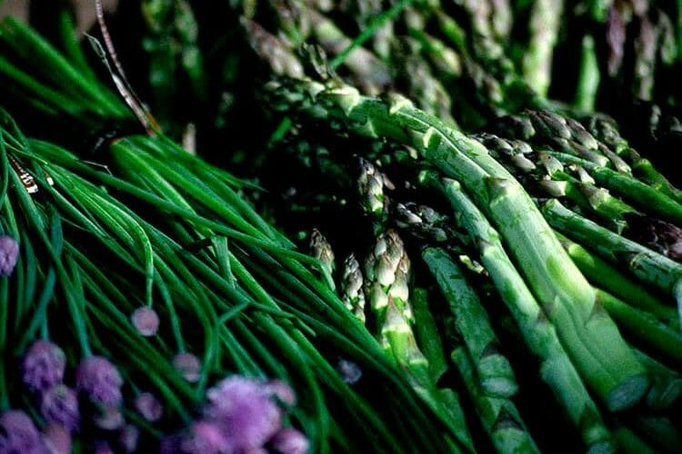Asparagus & Chives