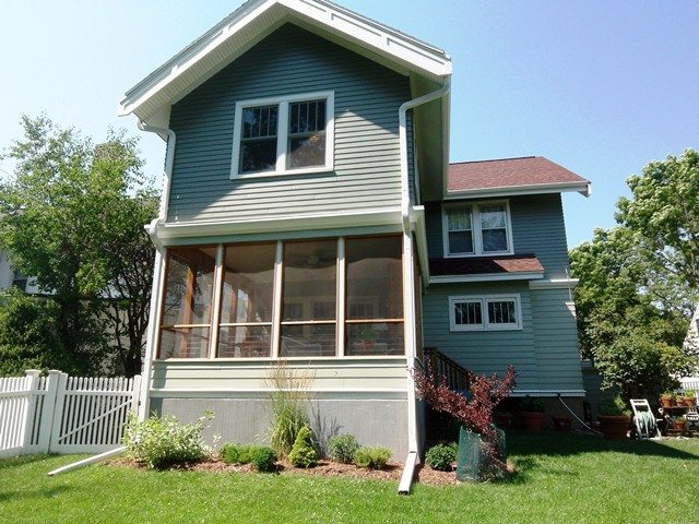 Two story addition done by Haver Design and Construction