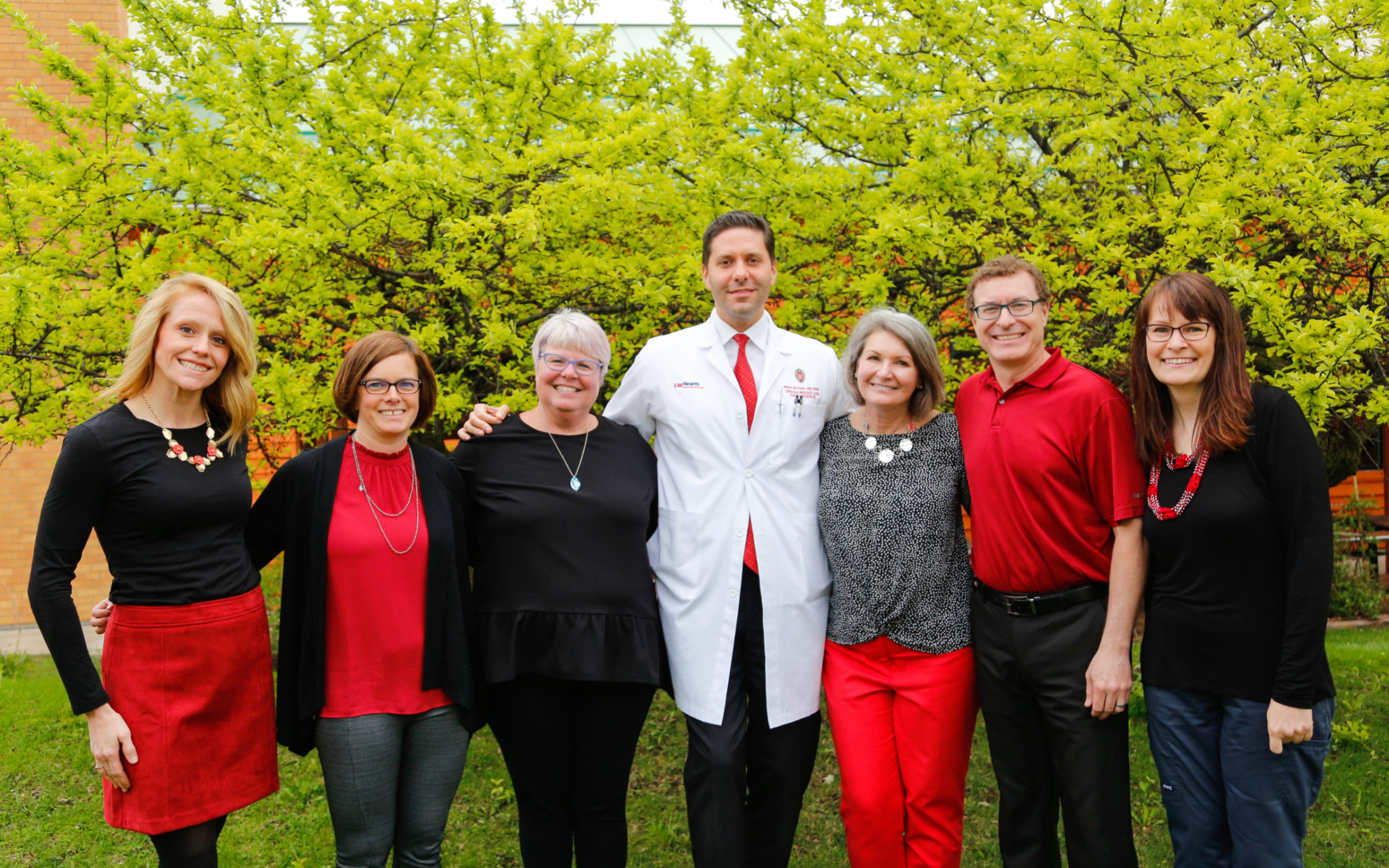 Clinical Eye Research Team Group Photo
