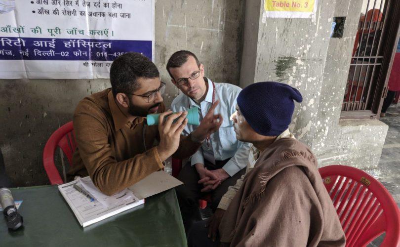 Chris Bowen Outreach Clinic India