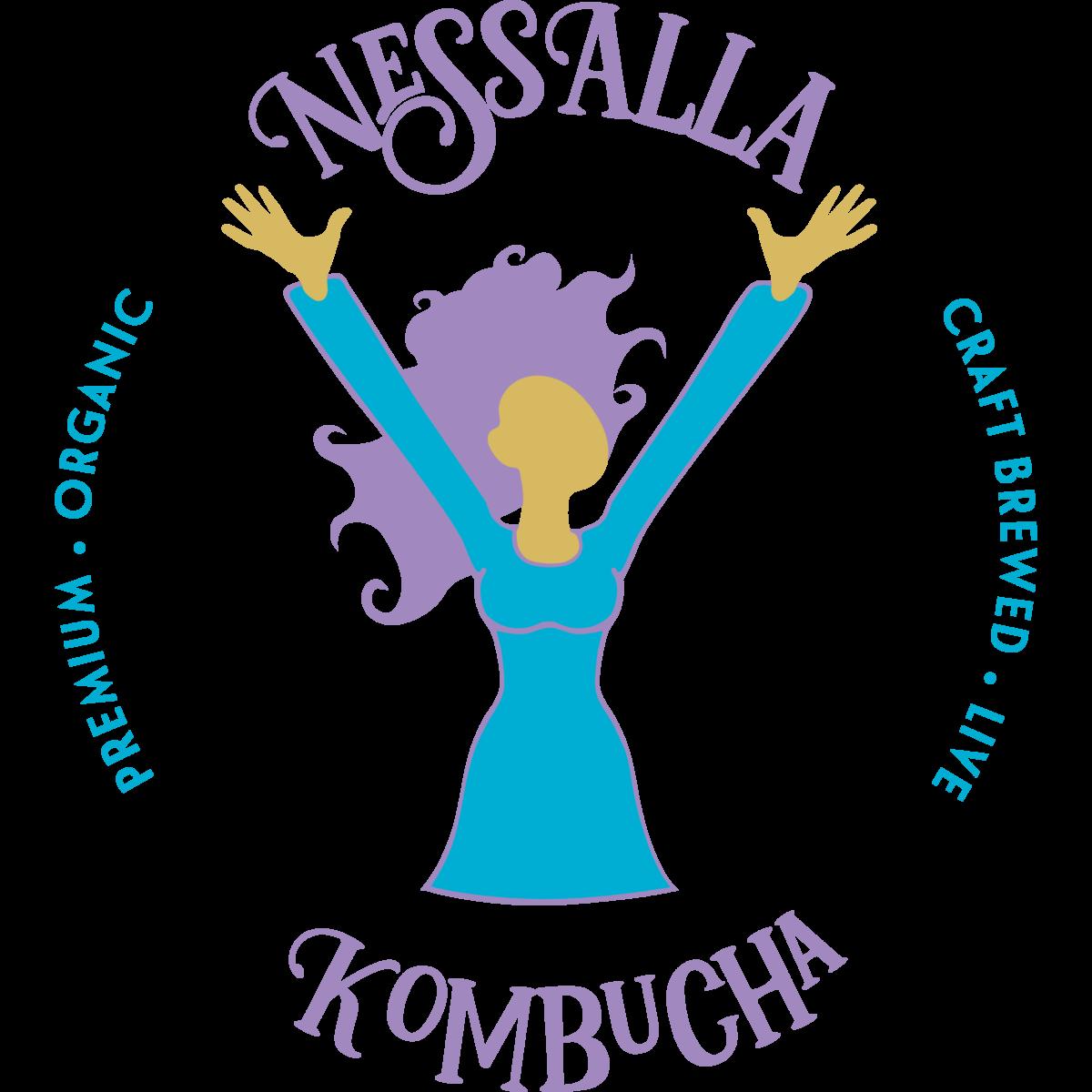 NessAlla Kombucha new Logo