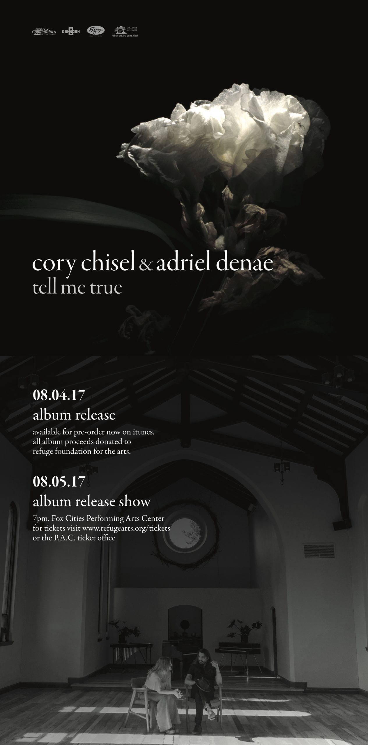 Cory Chisel Release Ad