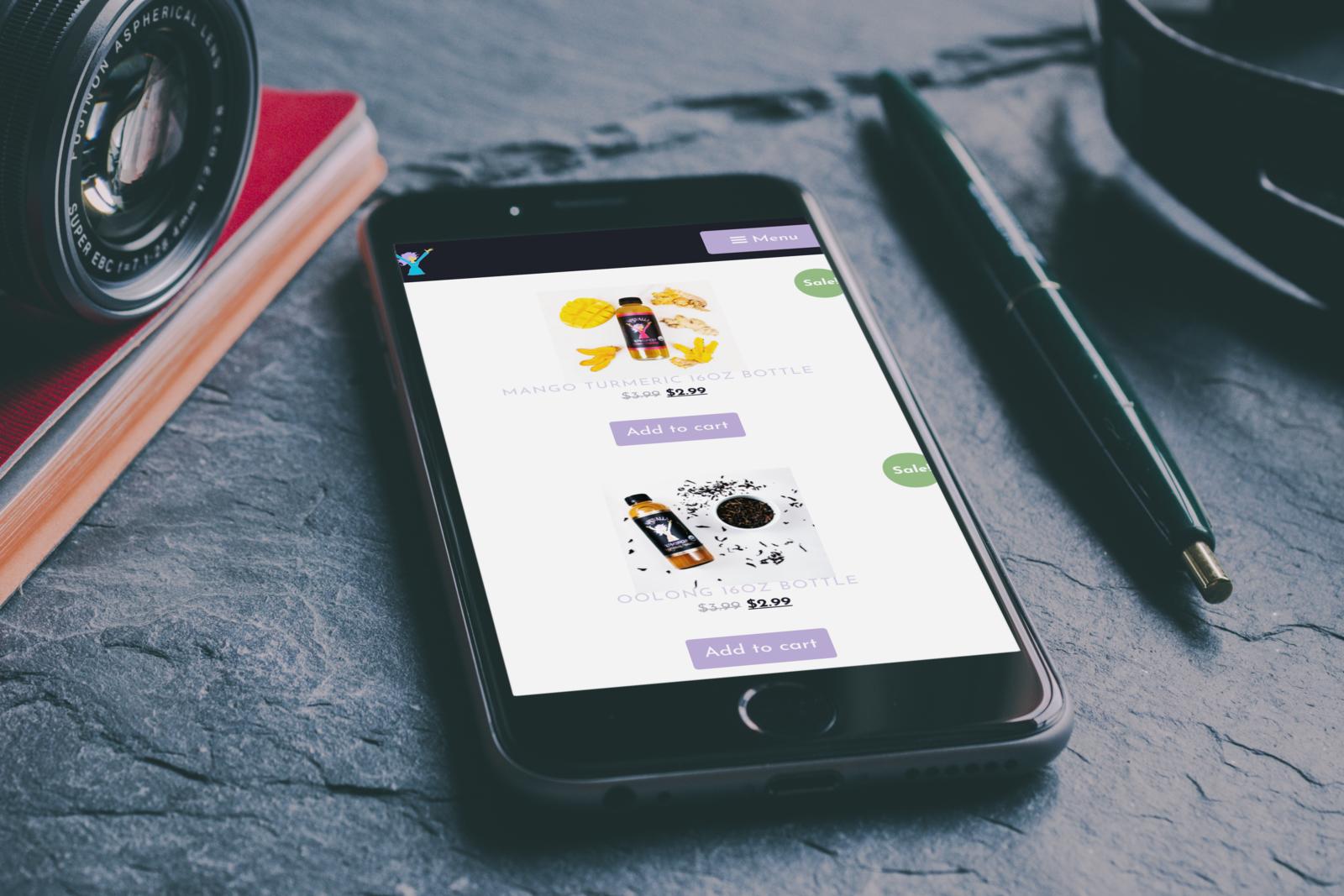 NessAlla Mobile E-Commerce Website