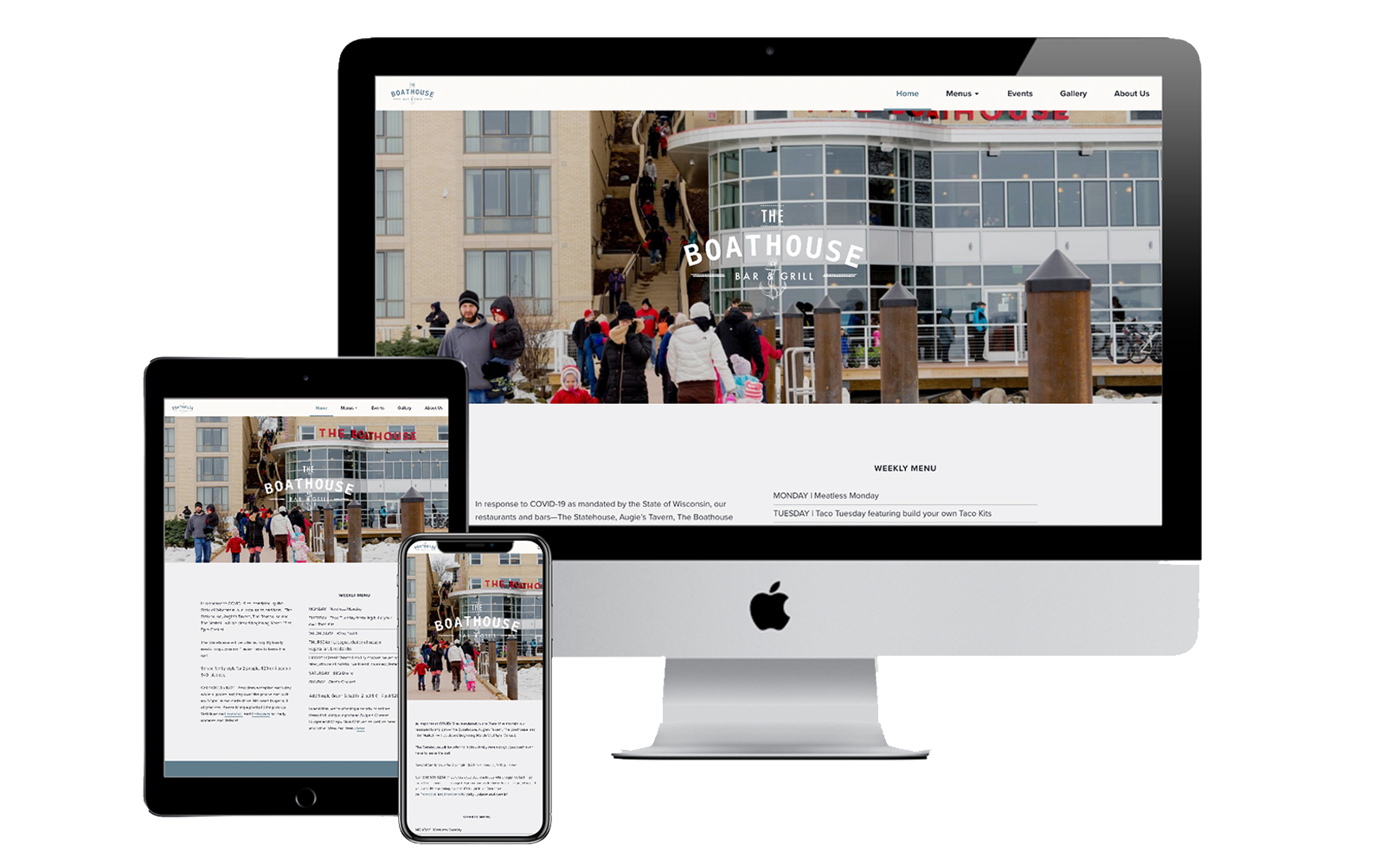 The Boathouse WordPress Website