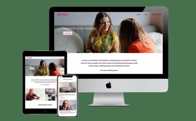 Lacuna Coworking Website