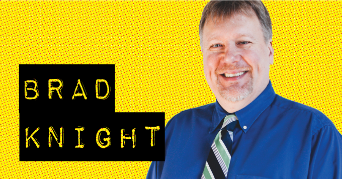 Brad Knight, owner and creative director of Monkey Business Institute