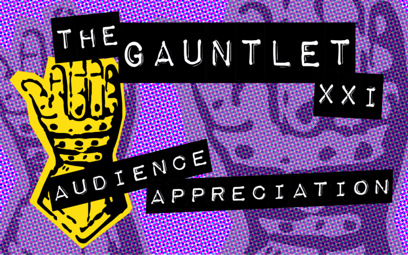 The Gauntlet XXI - Audience Appreciation logo