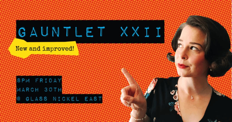 The Gauntlet XXII: New and Improved artwork