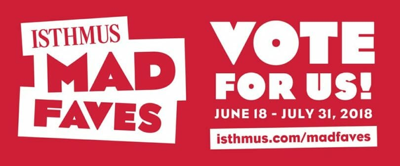The Isthmus' 2018 Mad Faves Voting logo