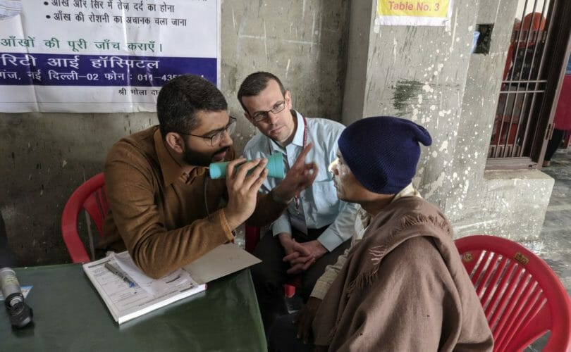 Chris Bowen Outreach Clinic India