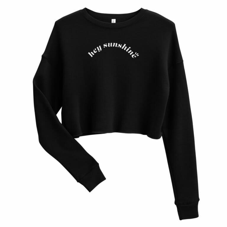 Photo of Hey Sunshine Crop Sweatshirt