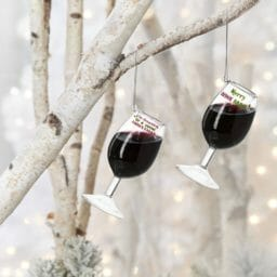Wine Glass Ornaments