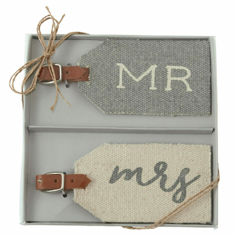 Photo of Wedding Luggage Tags