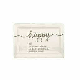 Photo of Happy Definition Plate