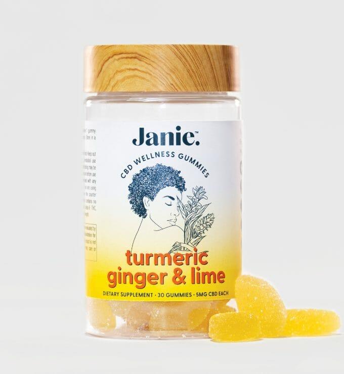 Turmeric Ginger Lime CBD Gummies