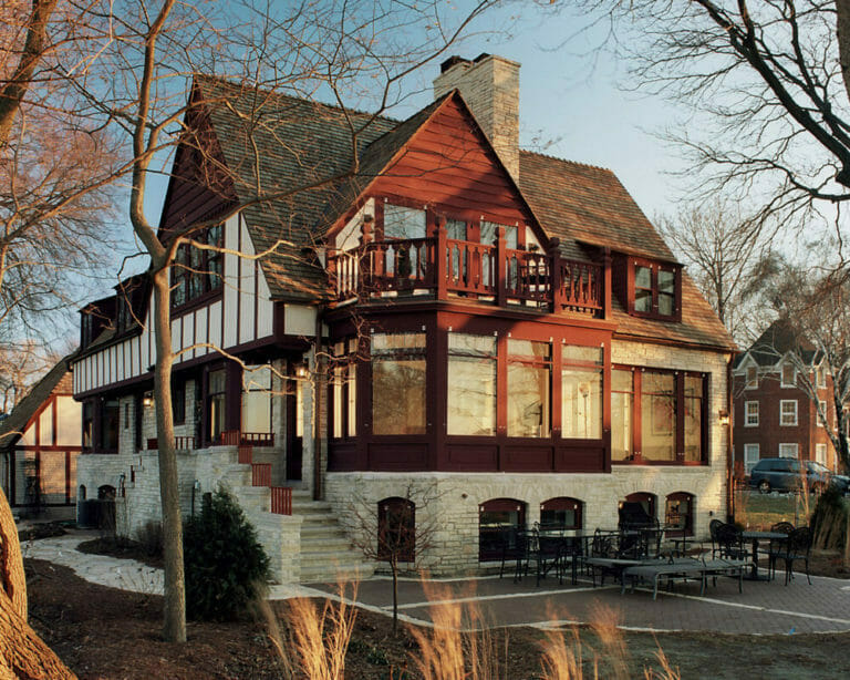This tudor home received a whole house remodel by TDS Custom Construction and was winner of the prestigious Chrysalis Award.