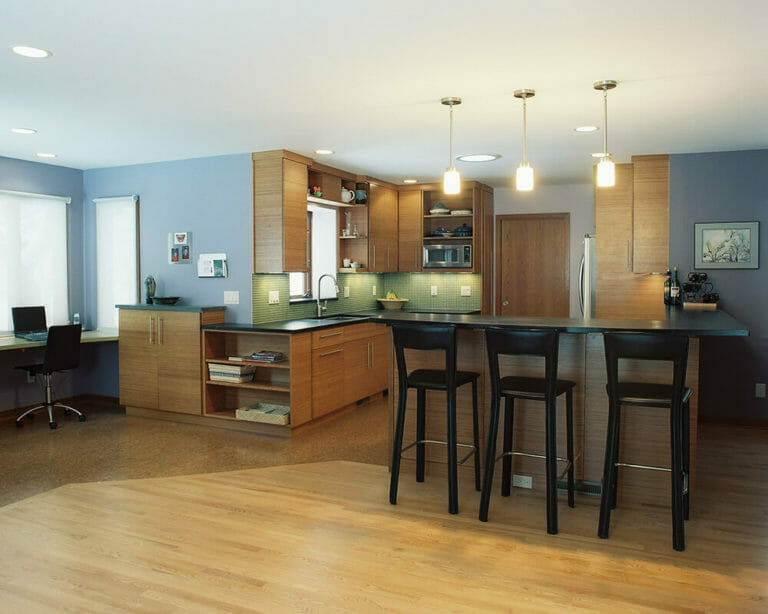 Kitchen remodeling by TDS Custom Construction.