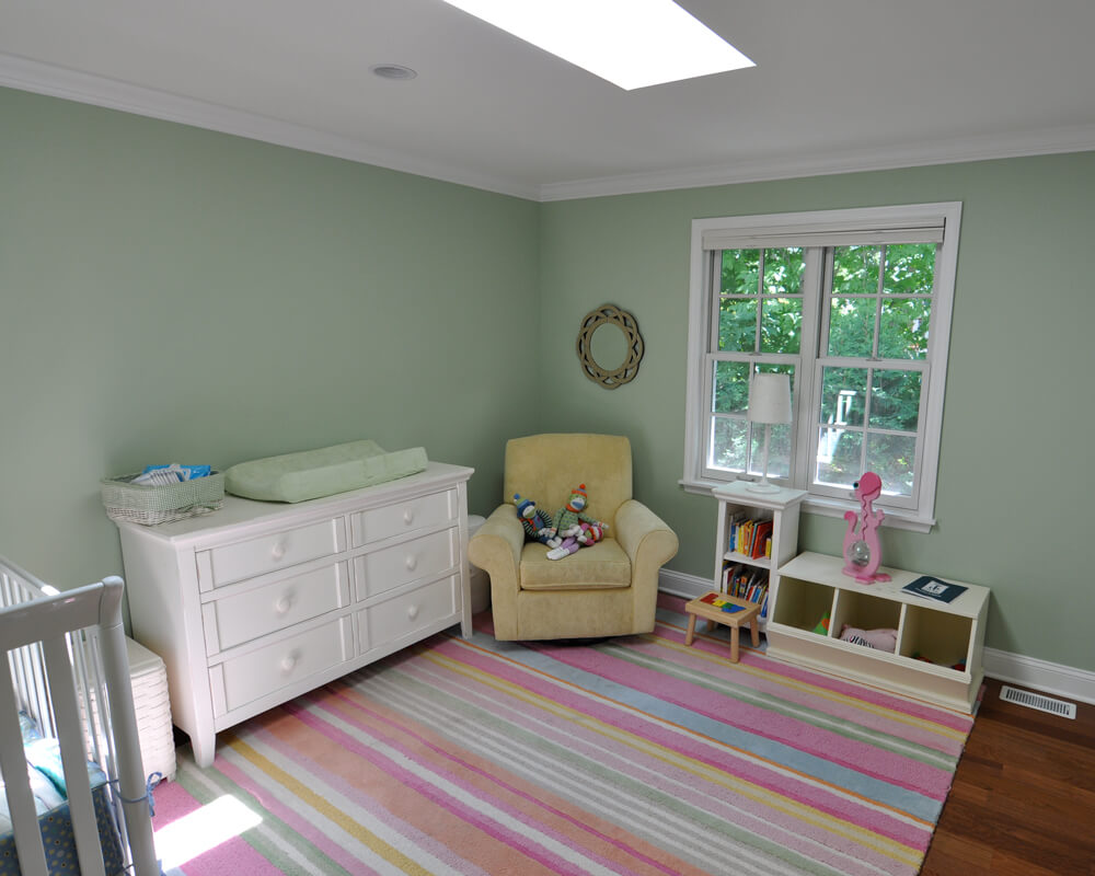 Whole house children's room remodel for a colonial home in Maple Bluff, Wisconsin by TDS Custom Construction.