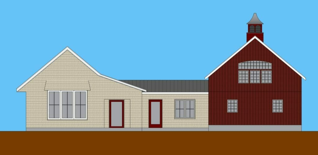 passive house designed and built by TDS Custom Construction in McFarland, Wisconsin