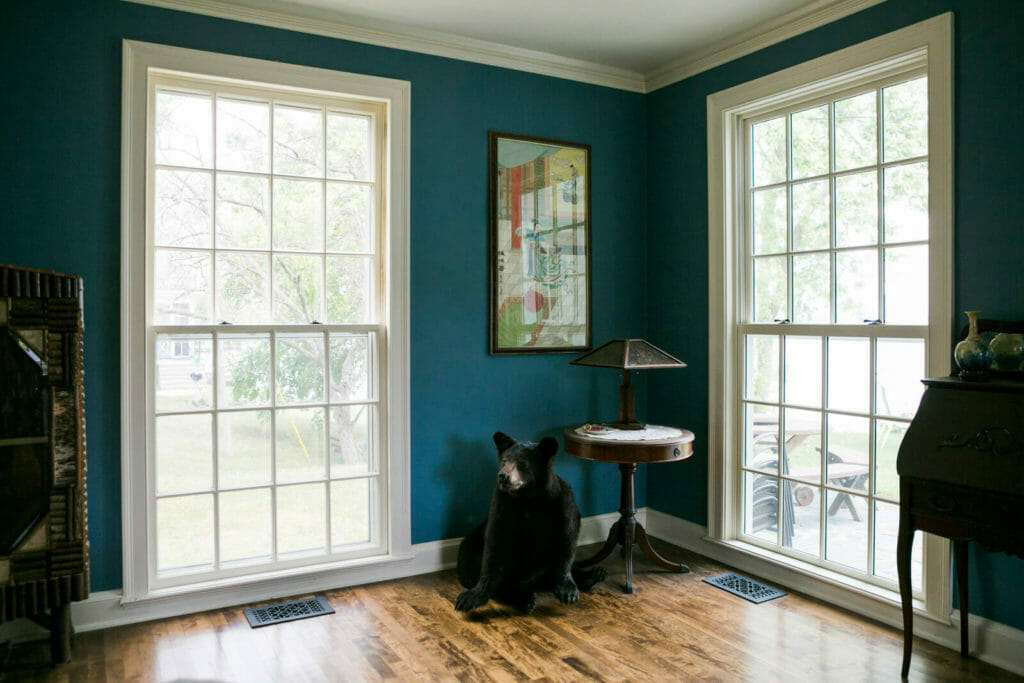 Energy efficient windows were used in the historic preservation of a 1922 Frank Riley Colonial Revival home on the Isthmus in Madison, Wisconsin.