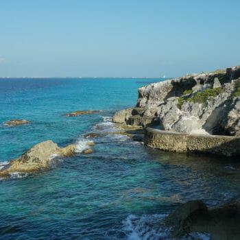 Coast of Isla Mujeres, Mexico