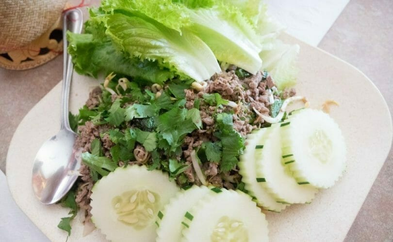 Minced meat dish