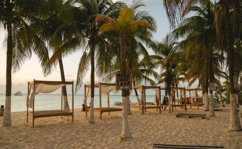 Bungalows at beachside