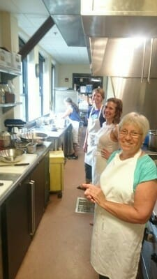 Goodman Food Pantry workers