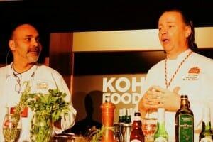 Chefs doing demonstration