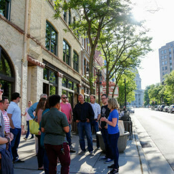 Food and Drink Group Tour on King Street, Madison, Wisconsin