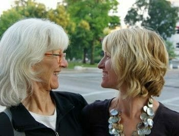 Madison Eats Food Tours founder Otehlia Cassidy with Mom