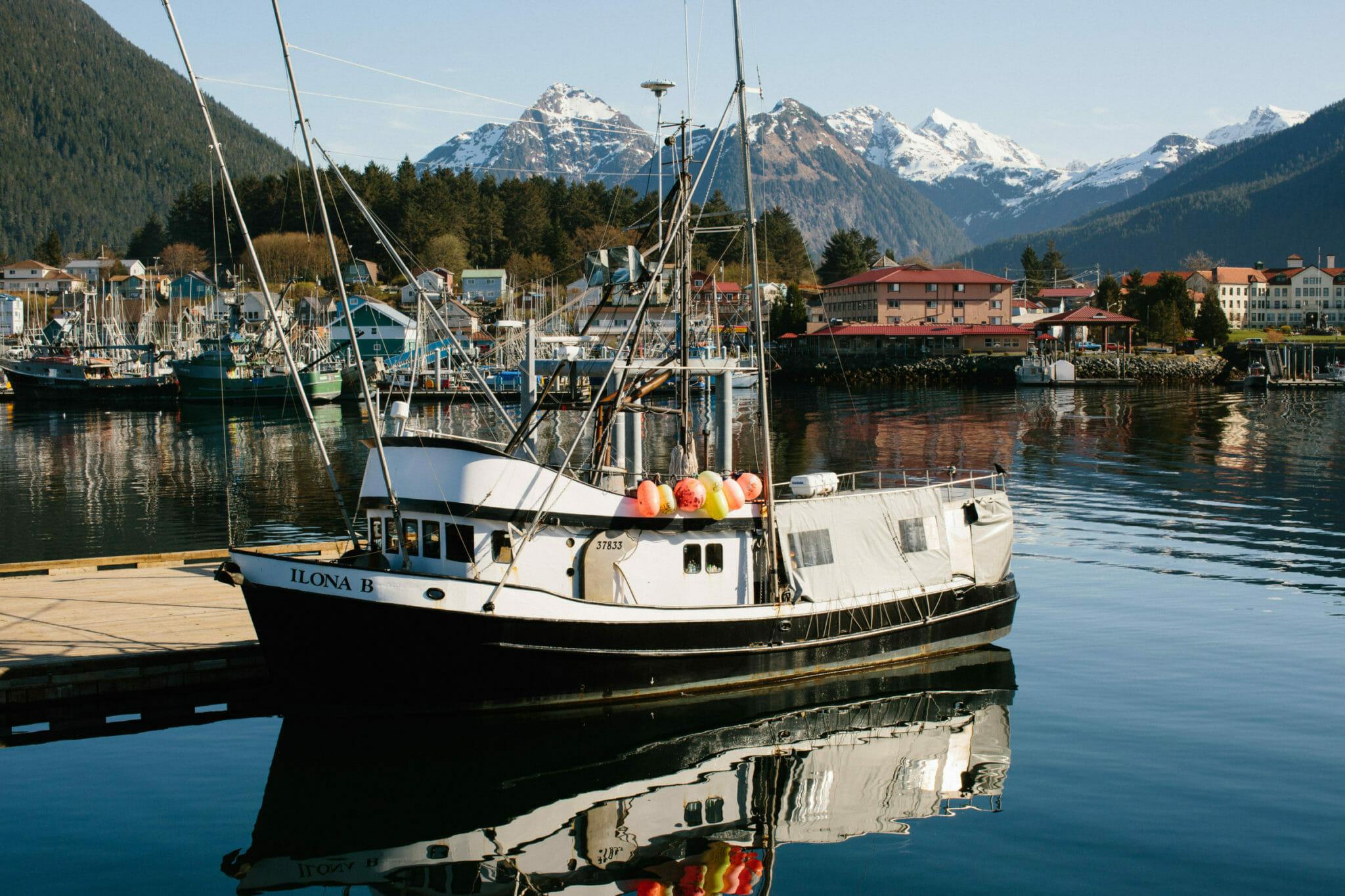 Photo of fishing boat in Alaska